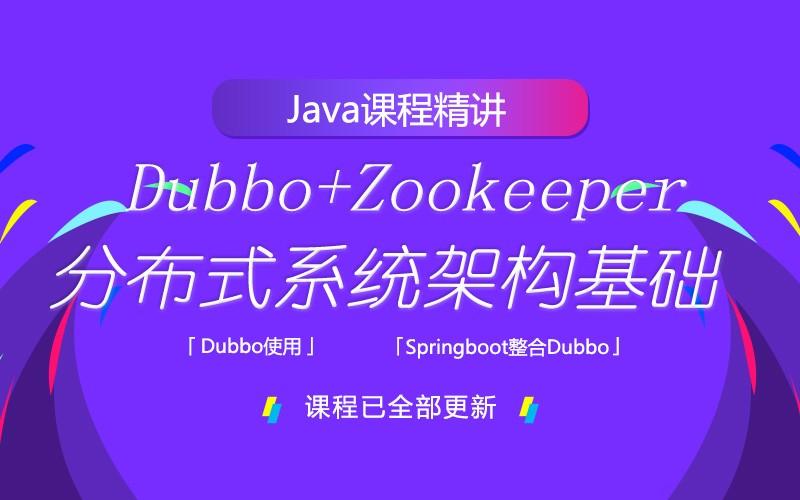 Dubbo+ZooKeeper分布式系統架構基礎